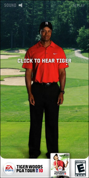 Great PGA tour 10 banner ad