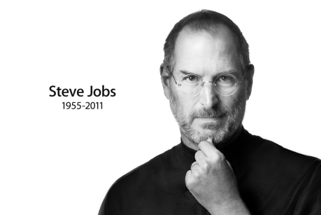 Image via Apple.com and copyright 2011 Apple Computers Inc. Steve Jobs died on 5th October 2011 from Cancer