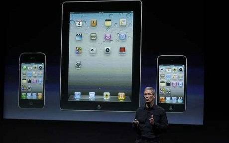 New Apple iPad 3 via Telegraph.co.uk